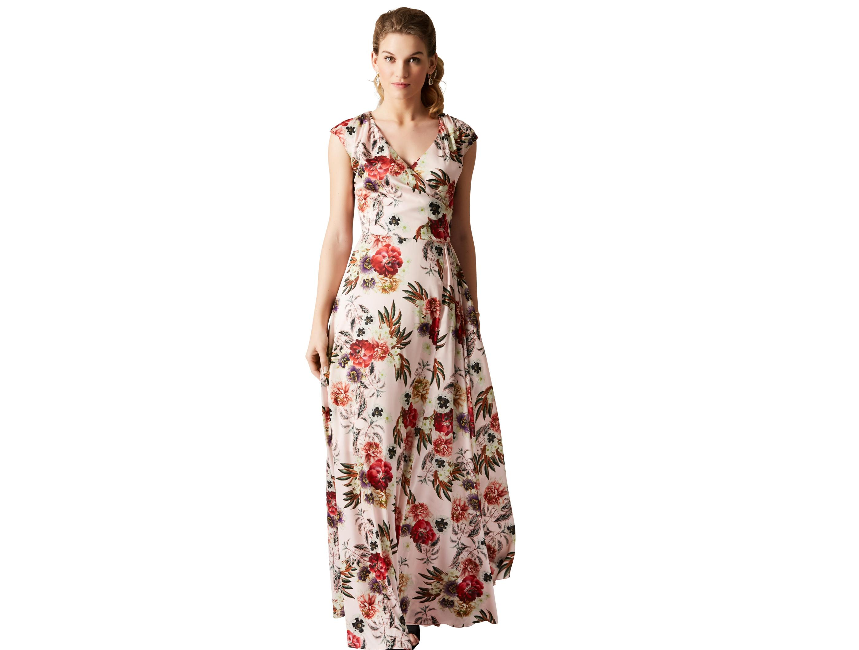 3f2241a9b Smuk blomstret maxi-kjole fra Lilly